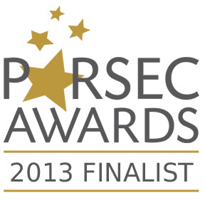 Parsec Awards 2013 Finalist!